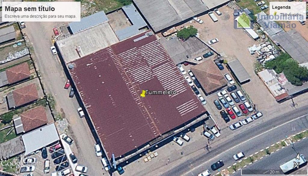 excelente pavilhão p/ comercio (c/2.200m² em terreno c/5.500m²) localização privilegiada na entrada da cidade.em frente ao...