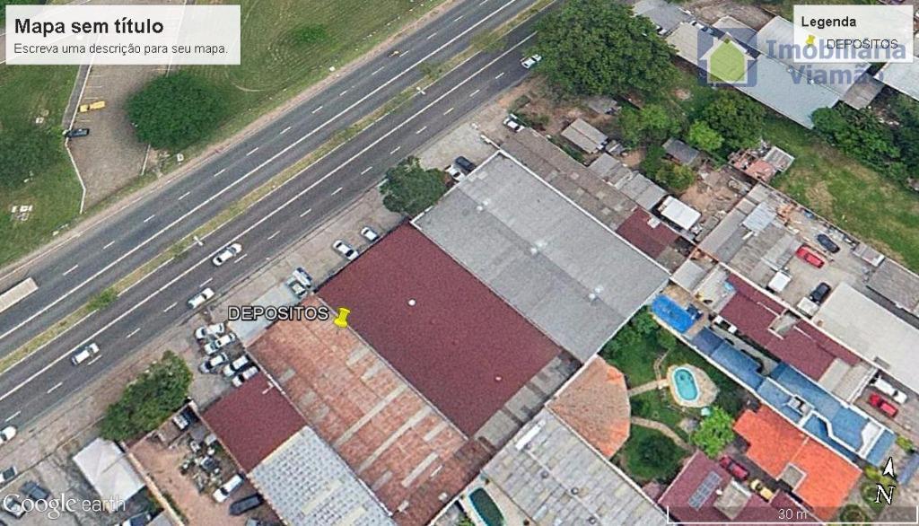 Pavilhão comercial à venda, Jardim São Pedro, Porto Alegre.