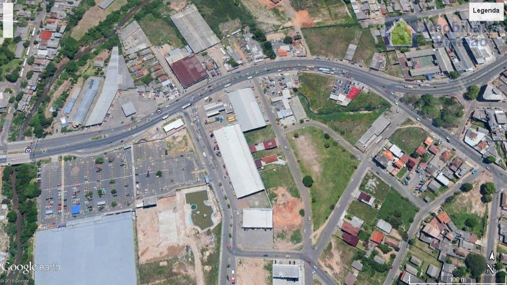 excelente área (c/3.350 m² ou lotes menores, á combinar) em alvorada rs localização privilegiada na entrada...