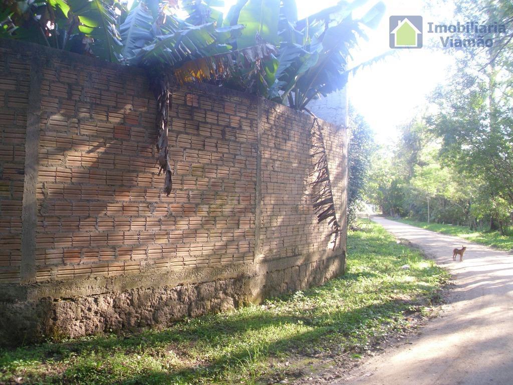 ótimo terreno aos arredores do lago tarumã, terreno com 360 m² escriturado, plano e tordo murado....