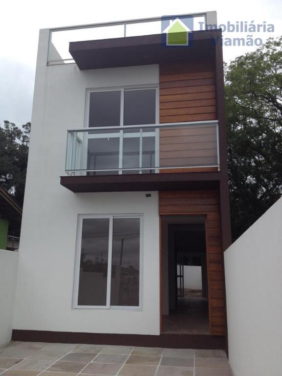 Sobrado residencial à venda, Viamópolis, Viamão.