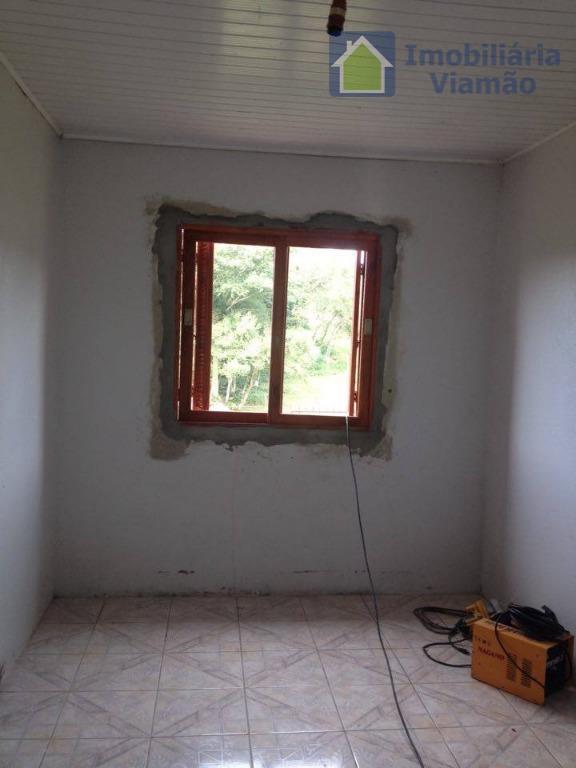 casa desocupada e pronta para morar! com acesso pela rs 118 (fiúza), casa fica á 2...