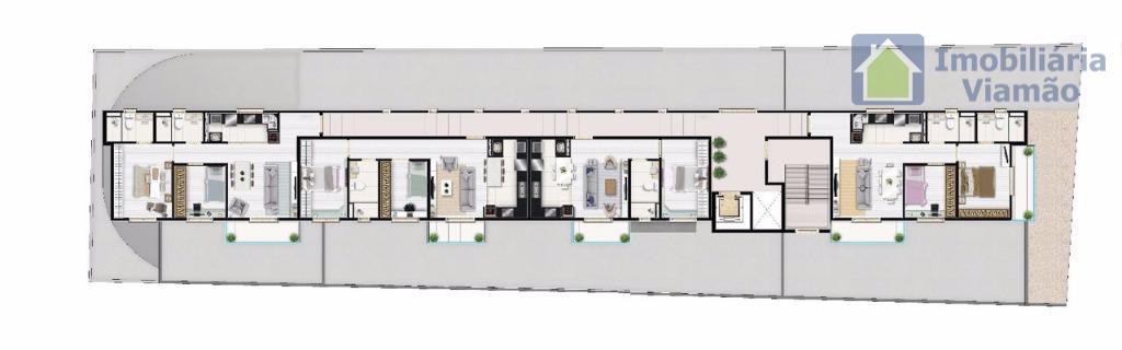 excelentes lançamentos no centro de viamão apartamentos de finos acabamentos com sacadas onde as mesmas podem...