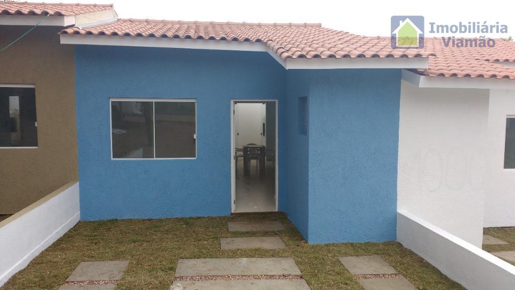 excelente imóvel novo, porcelanato, esp. água quente, churrasqueira, perto foro, financia casa 2 dormitórios em condomínio...
