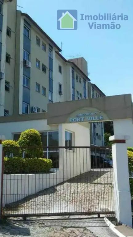 Apartamento com 2 dormitórios à venda, 58 m² por R$ 154.000 - Centro - Viamão/RS