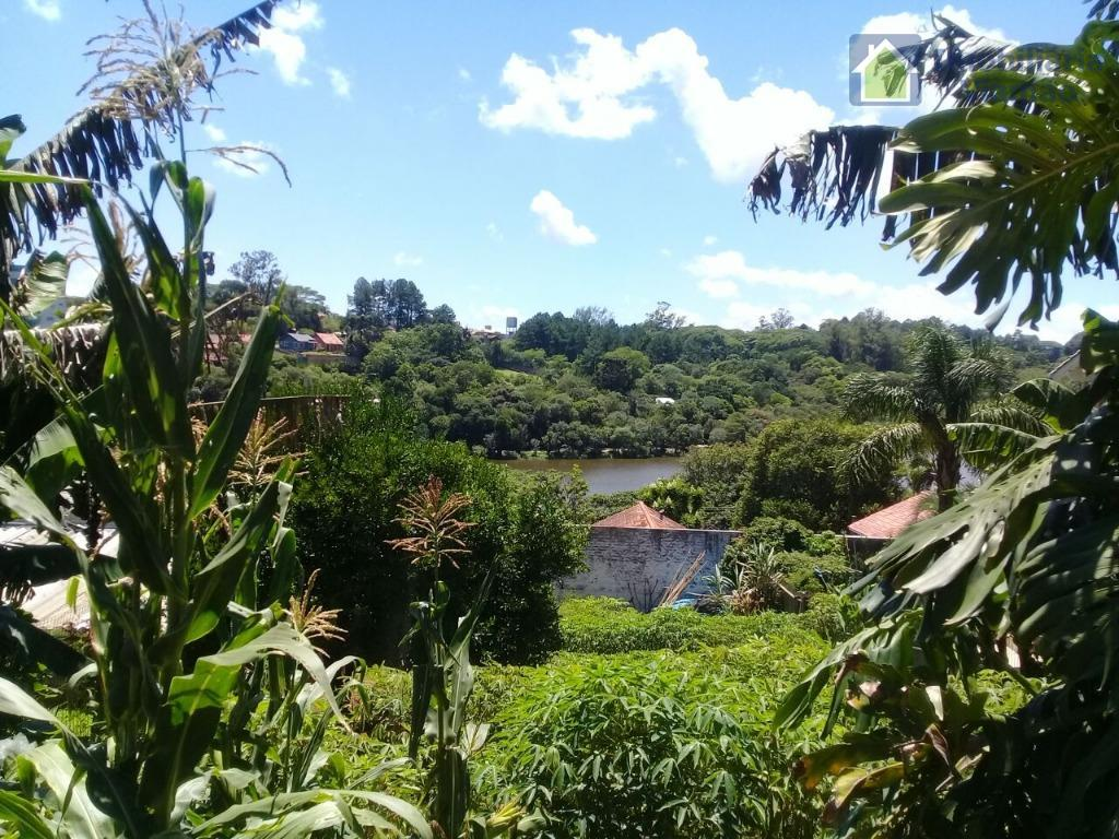 ótimo terreno com vista privilegiada para o lago tarumãterreno com 420 metros quadrados em declive 70%...