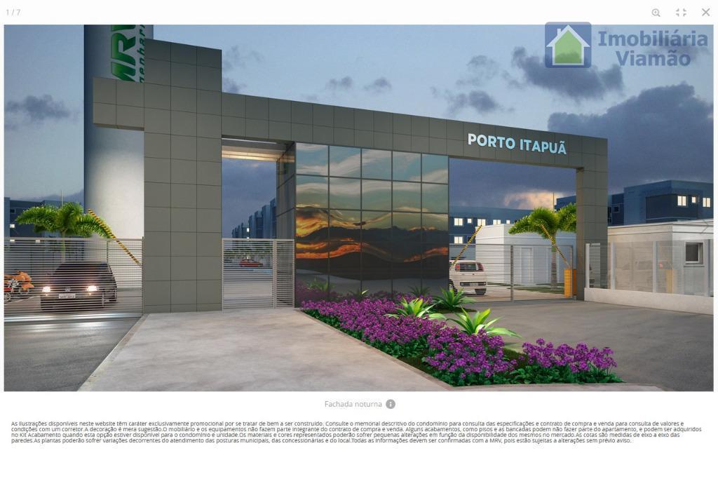 excelente lançamento!residencial porto itapuã, unidades à partir de 137.381,00 com entrada que pode ser parcelada em...