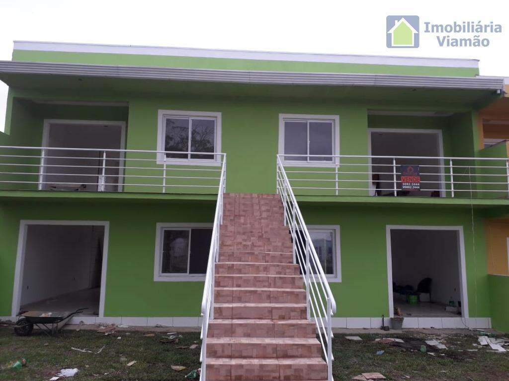 Apartamento com 2 dormitórios à venda, 54 m² por R$ 120.000 - Vila Elsa - Viamão/RS