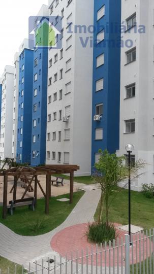 Apartamento com 2 dormitórios à venda, 49 m² por R$ 220.000 - Centro - Viamão/RS