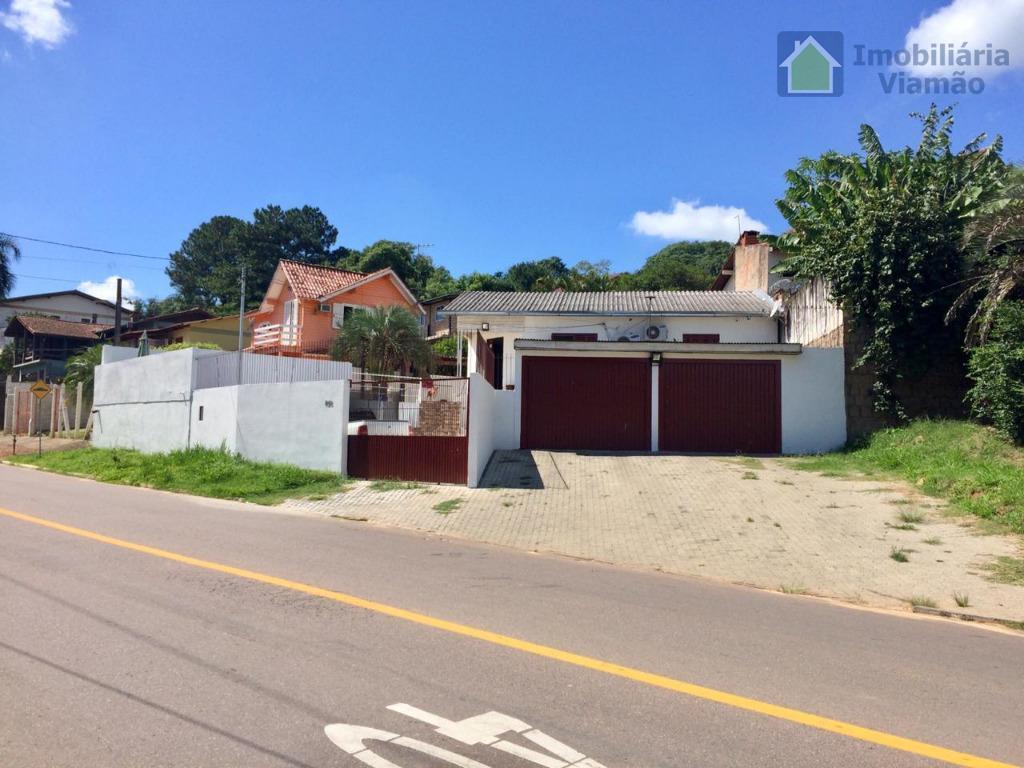 Casa com 3 dormitórios à venda, 140 m² por R$ 400.000 - Tarumã - Viamão/RS