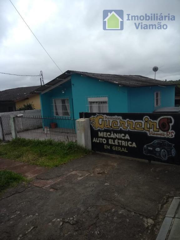 Residência Bairro Jardim Viamar com Oficina Mecânica Automotiva