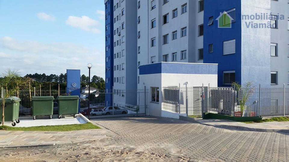 Apartamento com 2 dormitórios à venda, 48 m² por R$ 255.000 - Centro - Viamão/RS
