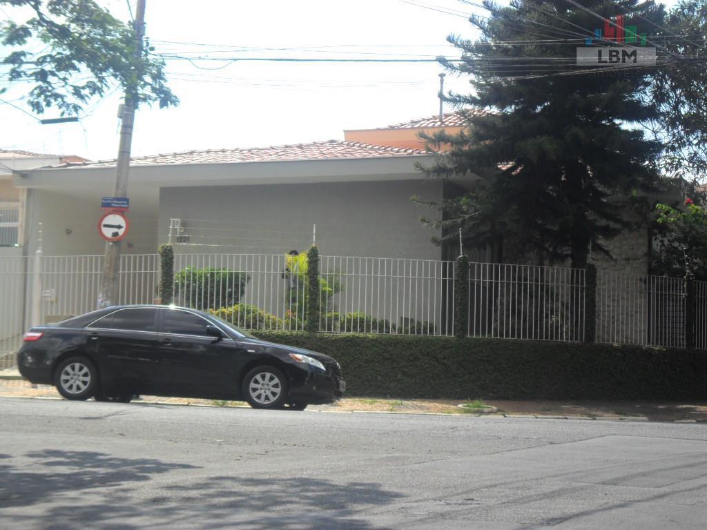 Casa comercial para locação, Jardim Guanabara, Campinas - CA0058.