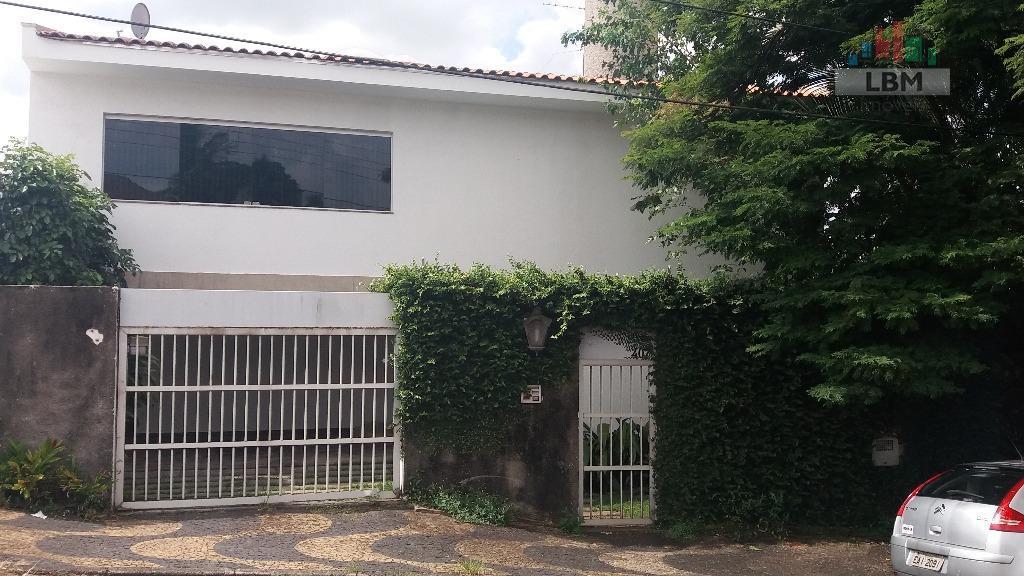 Casa residencial à venda, Jardim Quarto Centenário, Campinas - CA0050.