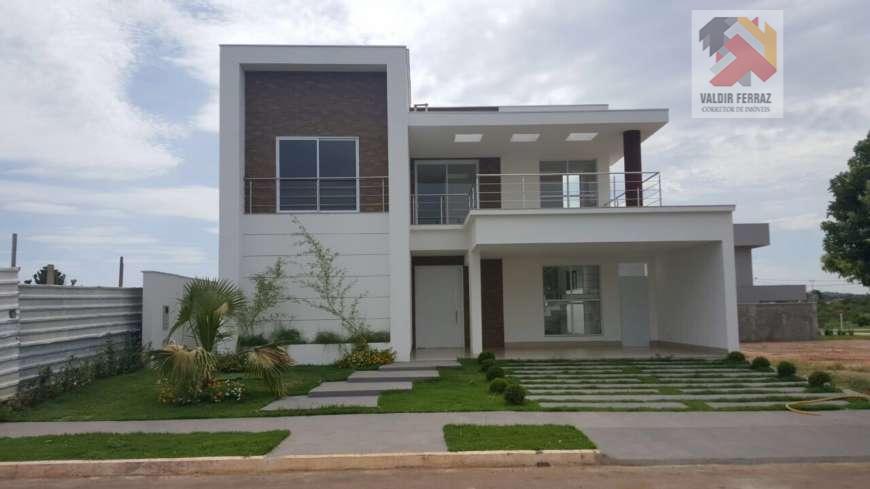 Casa residencial à venda, Condomínio Residencial Florais dos Lagos, Cuiabá - CA0018.