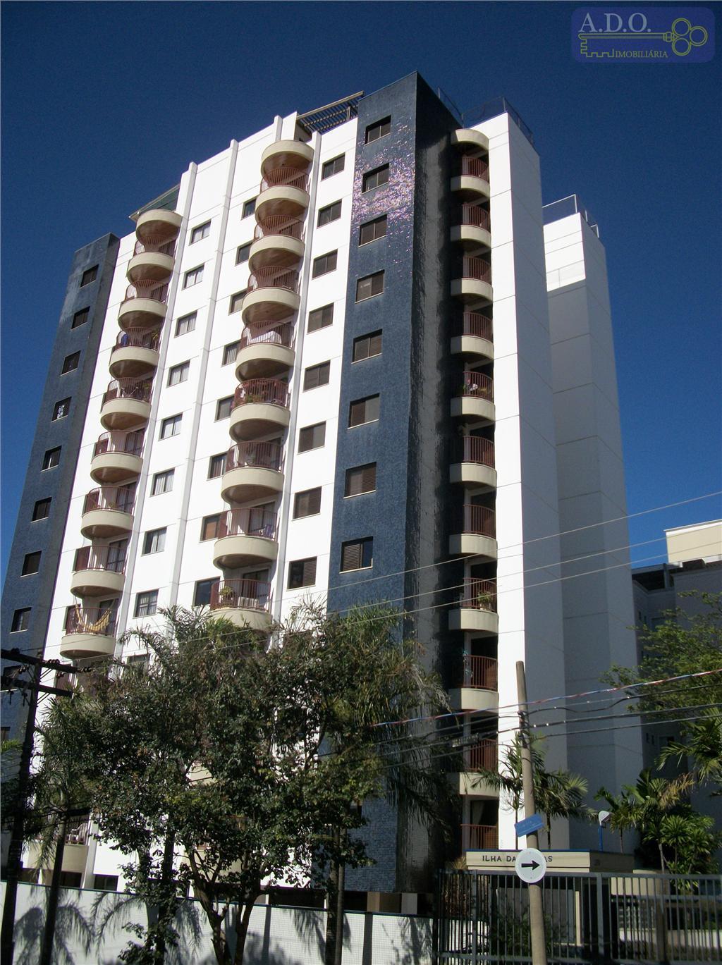 Apartamento  residencial à venda, ed ilha das rocas,Bonfim, Campinas.