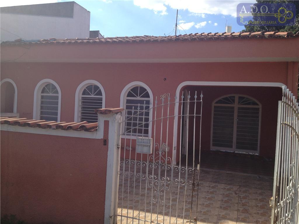 Casa residencial para venda e locação, Jardim Márcia, Campinas - CA0236.