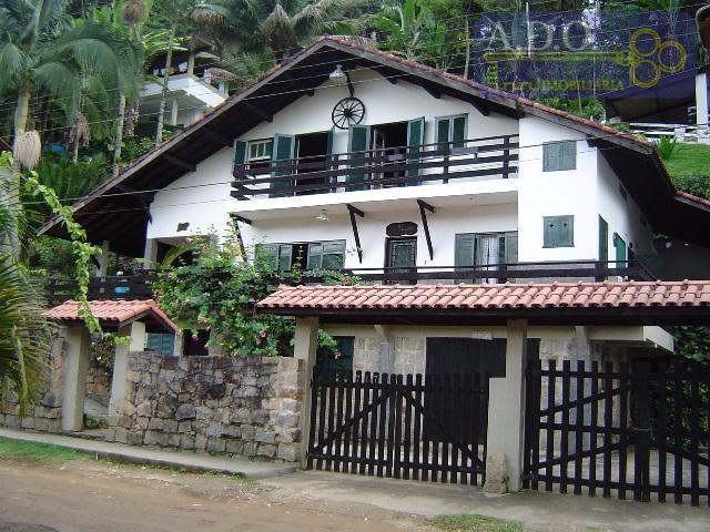 Casa residencial à venda, Praia do Lázaro, Ubatuba.