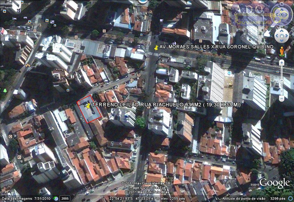 Terreno  comercial à venda, Centro, Campinas.