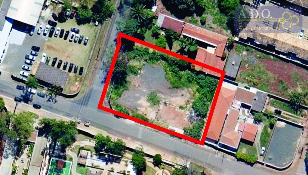 Terreno  residencial à venda, Fazenda Santa Cândida, Campinas.