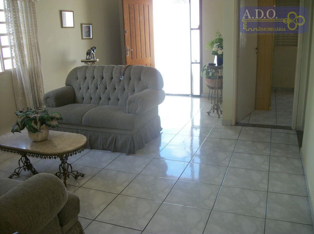Casa residencial à venda, Jardim Planalto, Campinas.