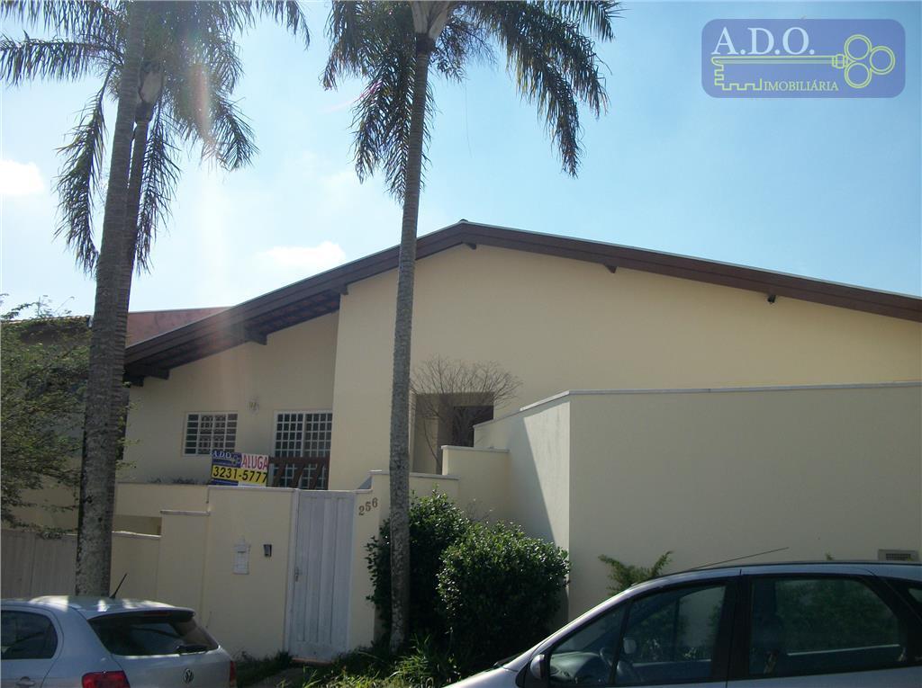 Casa  residencial para locação, Parque Jatibaia (Sousas), Campinas.