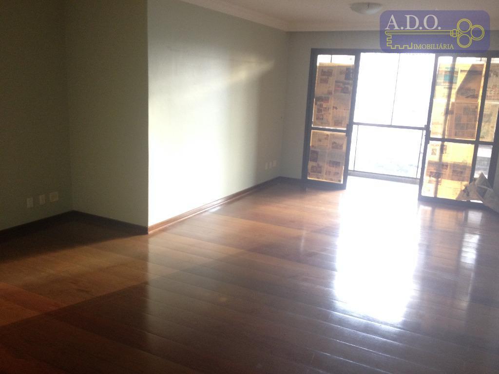 ótimo e amplo apartamento de 136m² úteis, ampla sala 3 ambientes com sacada e vista panorâmica,...
