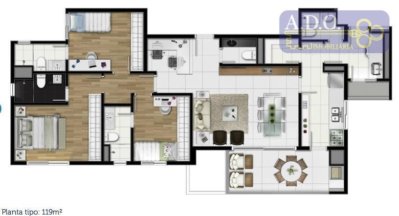 3 suites
