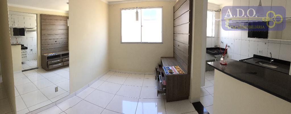 * apartamento de 2 dormitórios rico em armário* sala 2 ambientes com cozinha americana planejada conjugada...