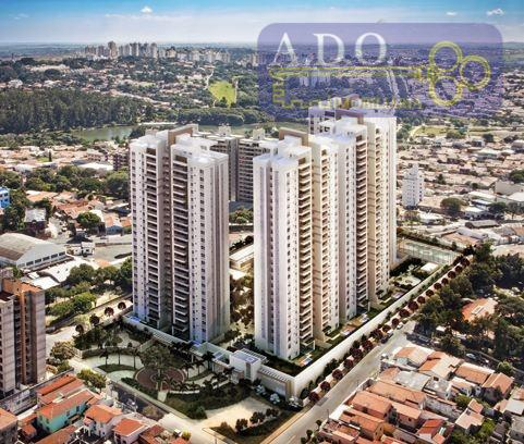 Apartamento residencial à venda, Taquaral, condominio horizon, Campinas.