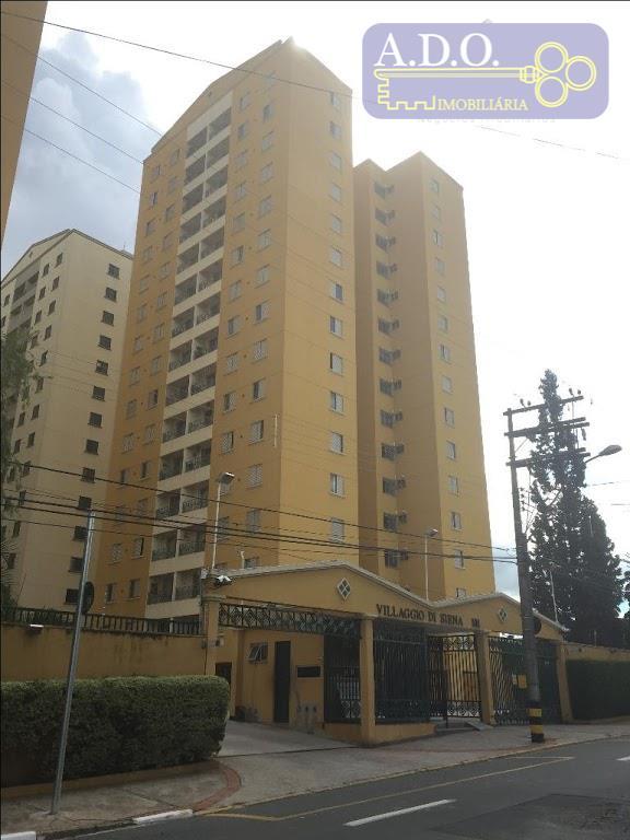 Apartamento residencial à venda, ultimo andar,  condominio Di Siena, Jardim Guanabara, Campinas.
