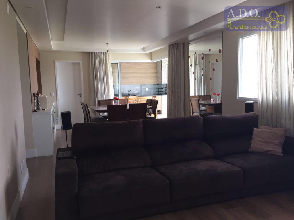 lindo apartamento amplo de 164m² uteis.* 3 suites com armários* sala extendida e planejada* varanda gourmet...