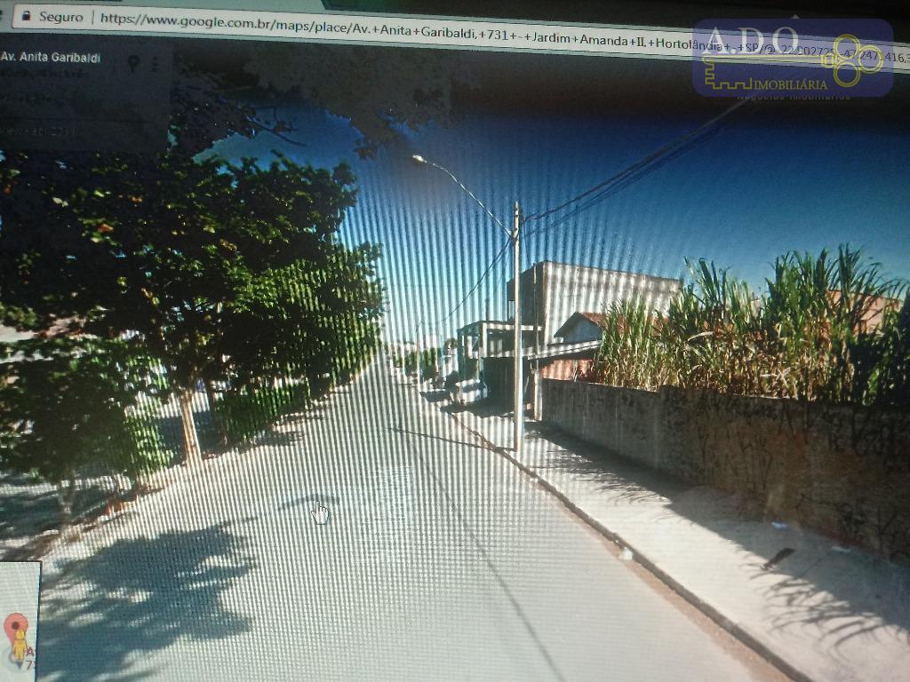 Terreno comercial para venda e locação, Jardim Amanda II, Hortolândia - TE0104.