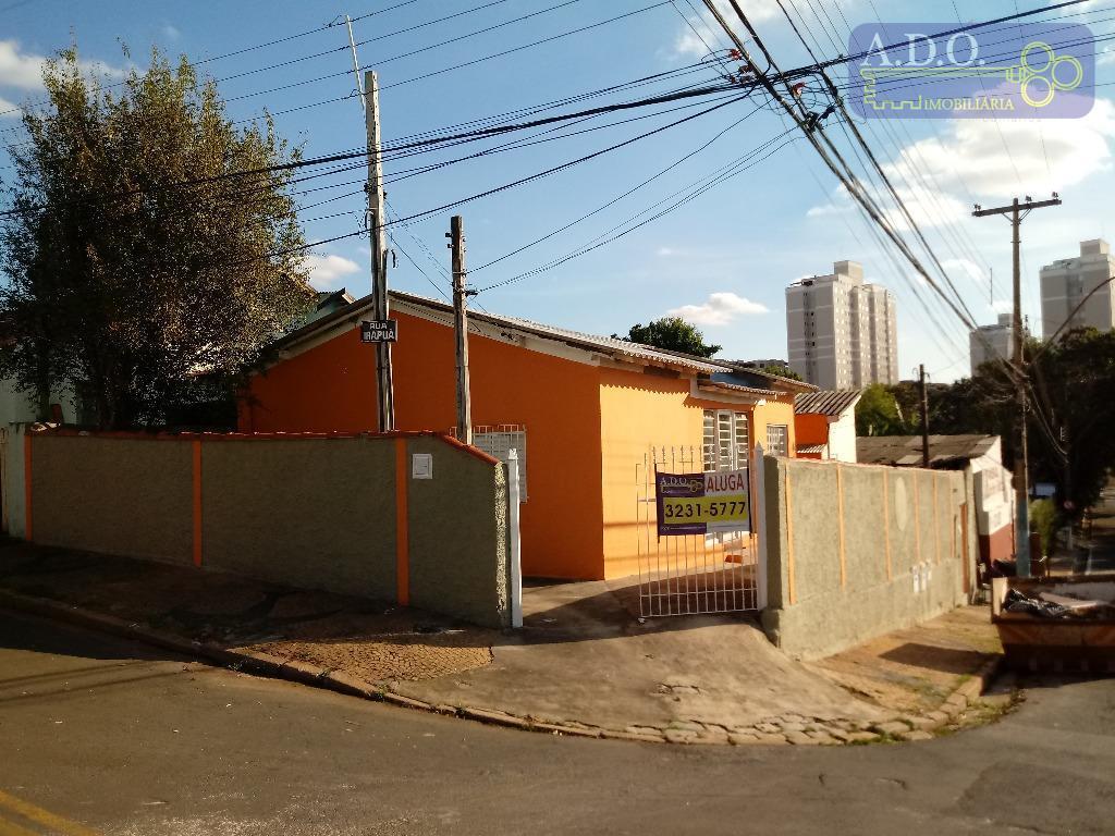 Casa residencial para locação, Vila Marieta, Campinas - CA0537.