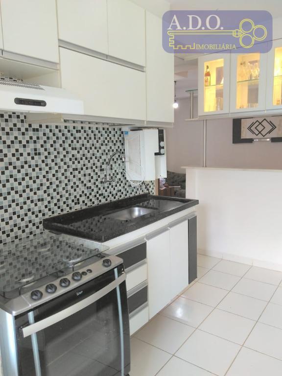 lindo apartamento* 2 dormitorios com armarios* sala 2 ambientes com sacada (1º andar)* cozinha planejada* 1...