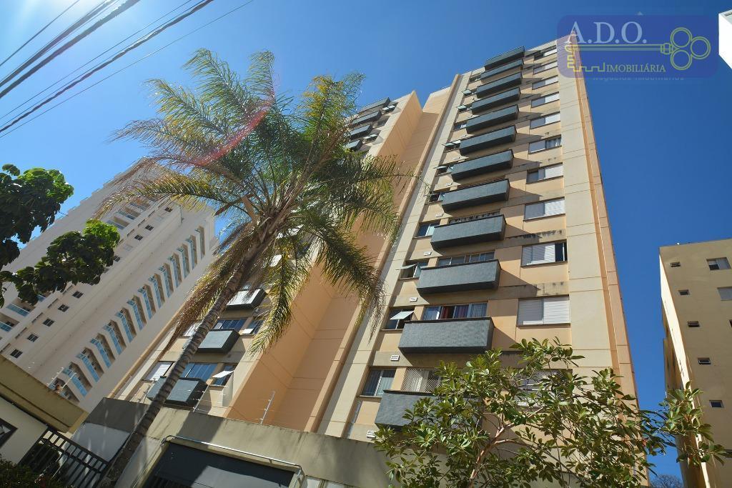 Apartamento residencial à venda, Centro, Campinas - AP0552.