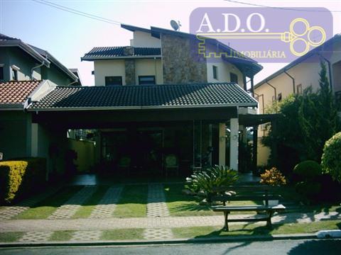 Casa residencial à venda, Dois Córregos, Condominio Reserva Colonial, Valinhos - CA0018.