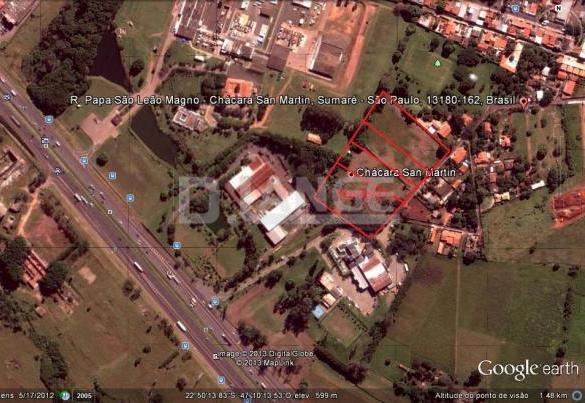 Área em Jardim Santa Lúcia (Nova Veneza), Sumaré - SP