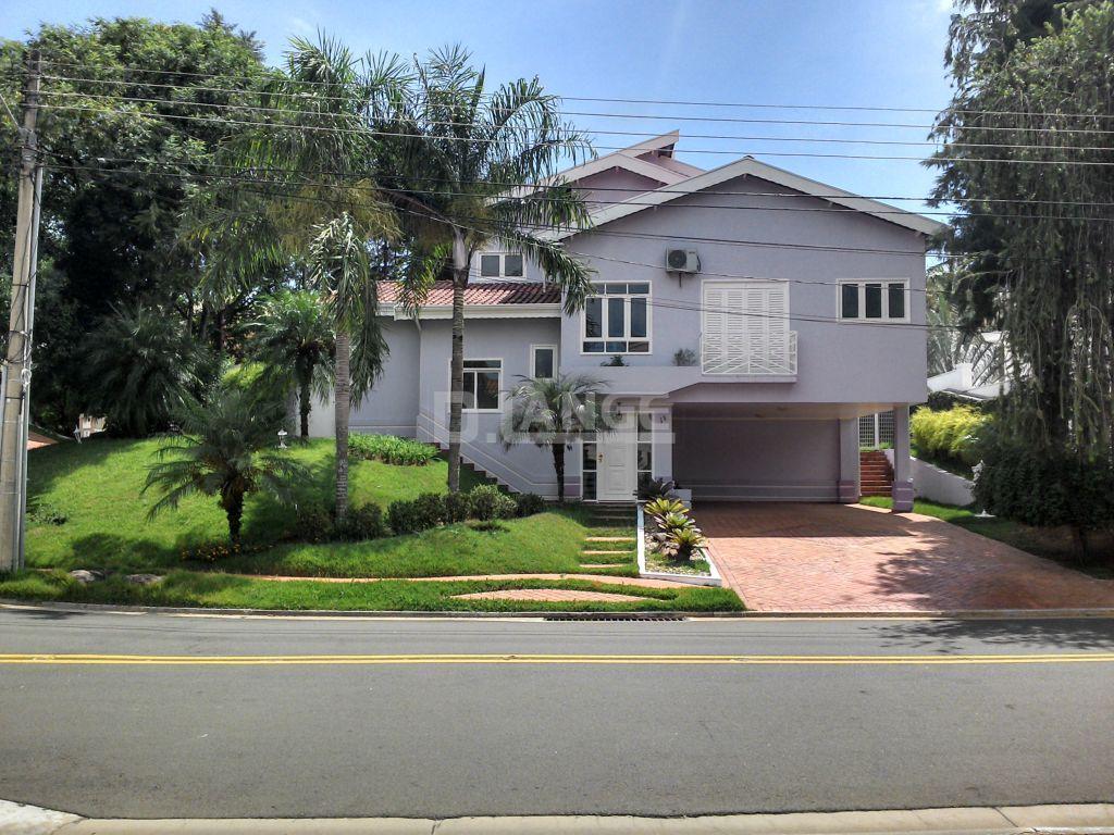 Casa residencial à venda, Alphaville Campinas, Campinas - CA7455.