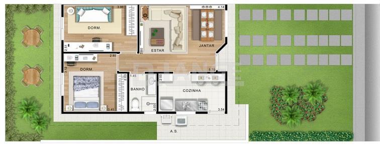 Casa de 2 dormitórios em Residencial Viva Vista, Sumaré - SP