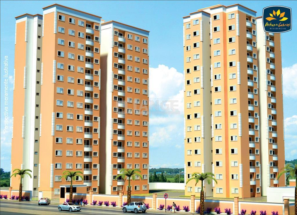 Apartamento de 2 dormitórios em Parque Gabriel, Hortolândia - SP