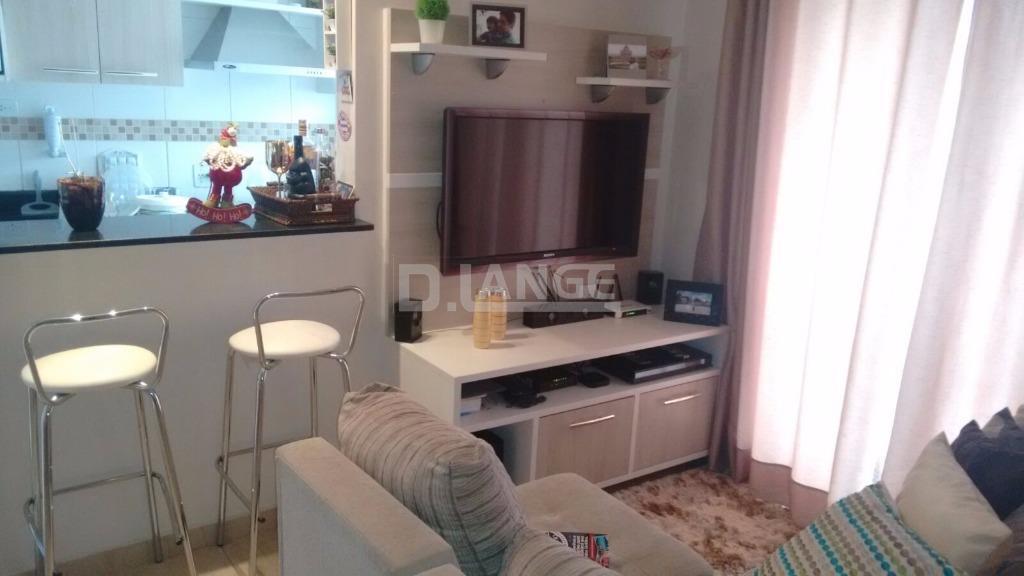 Apartamento de 2 dormitórios em Jardim Magnólia, Campinas - SP