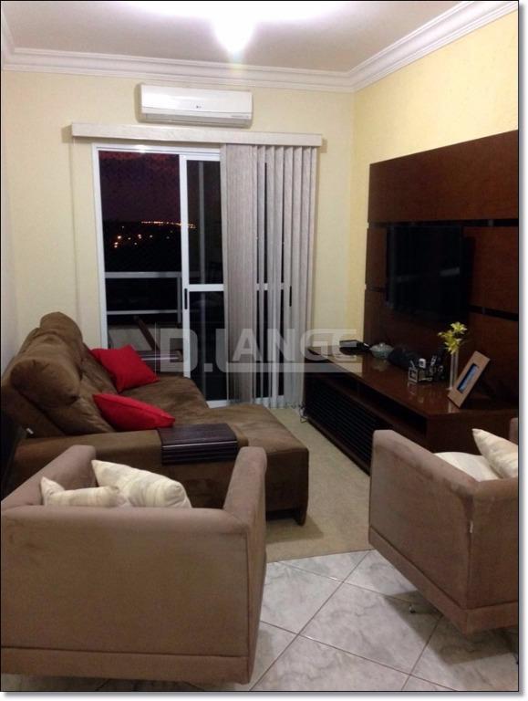 Apartamento de 2 dormitórios em Centro, Paulínia - SP