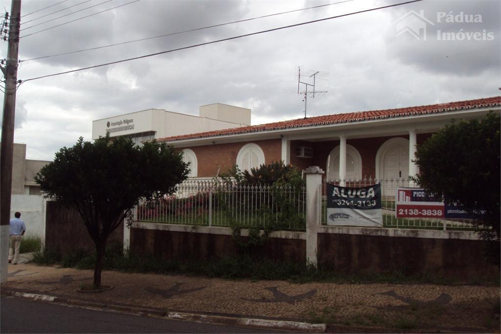 Casa  comercial para locação, Jardim das Paineiras, Campinas.