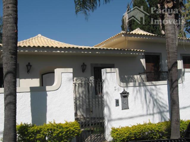 Casa residencial para venda e locação, Jardim das Paineiras, Campinas - CA0010.