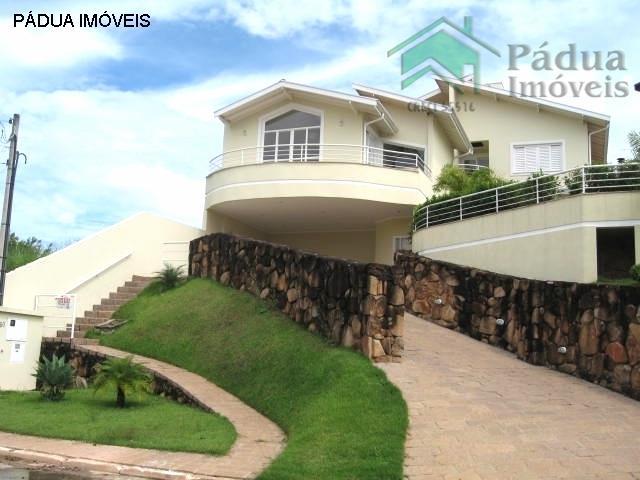 Casa Residencial para locação, Caminhos de San Conrado, Campinas - CA0038.