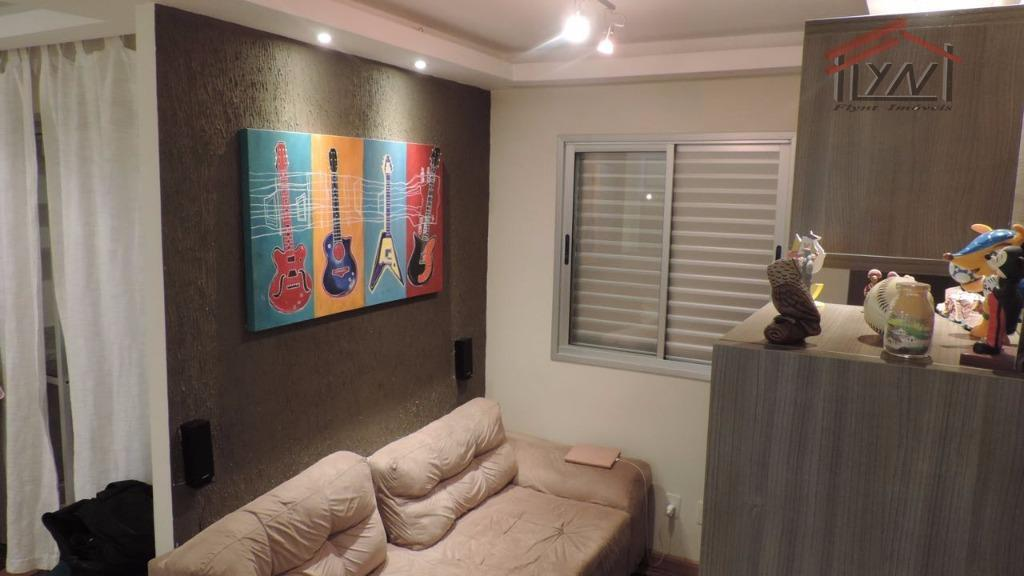 - oportunidade - porteira fechada - apartamento de 65 m², todo mobiliado!!!! 02 dormitórios com armários,...