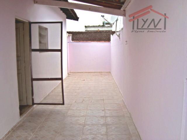 Casa residencial para locação, Vila Guilhermina, Praia Grande.