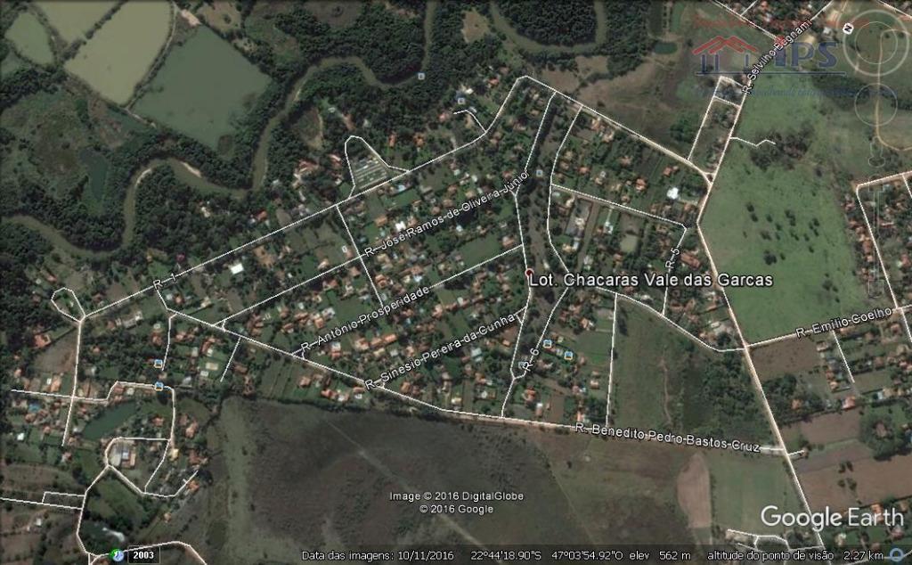 Terreno residencial à venda, Loteamento Chácaras Vale das Garças, Campinas.