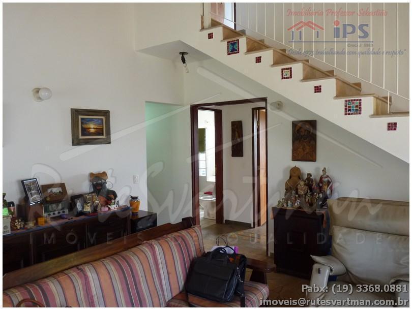 ótimo sobrado, construção solida, estilo rustico, 3 dorms, um suite master com closet no térreo, um...